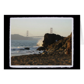 Golden Gate vom China-Strand Karte