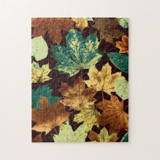 Golden Leaves Puzzle