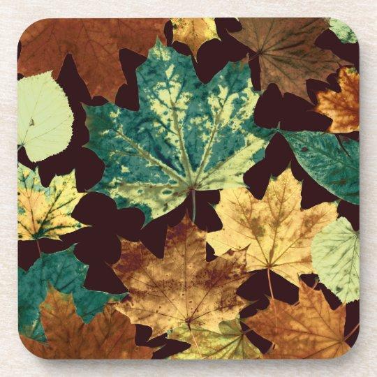 Golden Leaves Untersetzer