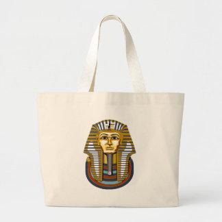 Golden-Maske-Tutanchamun Jumbo Stoffbeutel