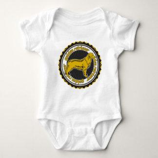 Golden retriever baby strampler