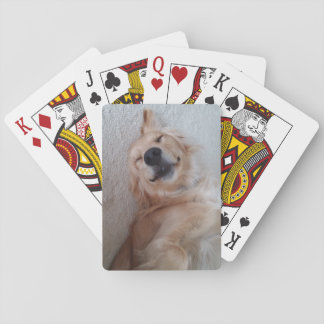 Golden retriever-Karten Spielkarten