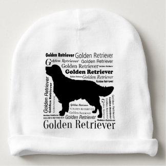 Golden Retriever Silhouette Babymütze