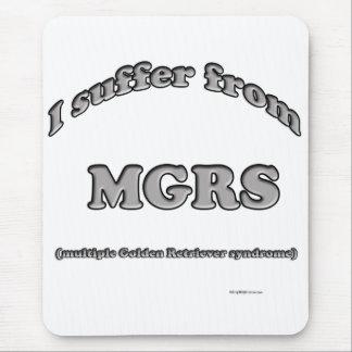 Golden retriever-Syndrom Mousepad