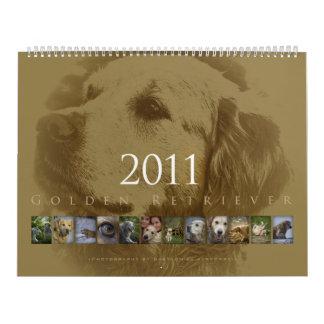 Golden retriever - Wandkalender 2011