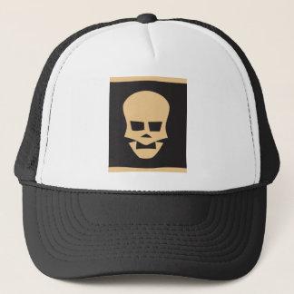 Golden skull truckerkappe