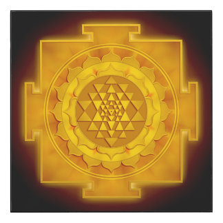 Golden Sri Yantra - Artwork I