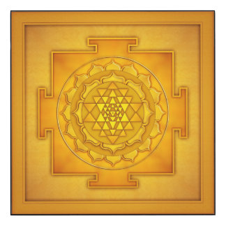 Golden Sri Yantra - Artwork II