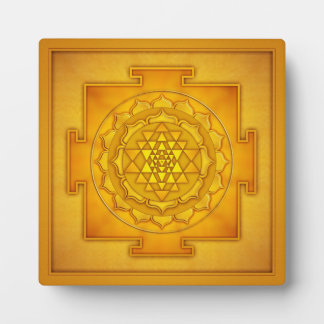 Golden Sri Yantra - Artwork II Schautafeln