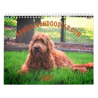 Goldendoodle Kalender