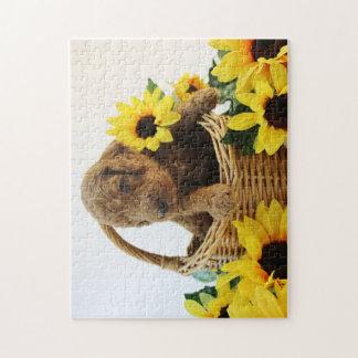 Goldendoodle Welpen-Puzzle Puzzle