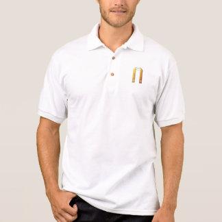 "Goldene ""3-D"" liturgische Stola Polo Shirt"