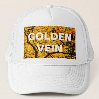 Goldene Adern des Herbstes Truckerkappe