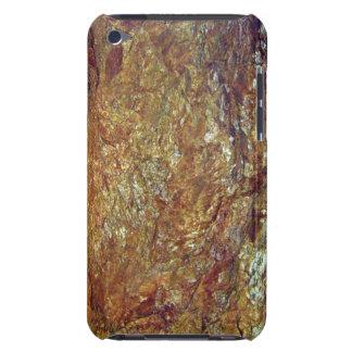Goldene Beschaffenheit des Felsenberges iPod Touch Hülle