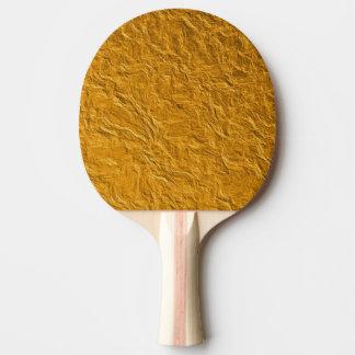Goldene Beschaffenheit Tischtennis Schläger