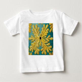 goldene Blätterabdeckung Baby T-shirt