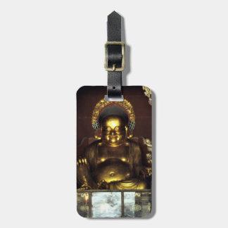 Goldene Buddha einfache Identifikation persönlich Kofferanhänger