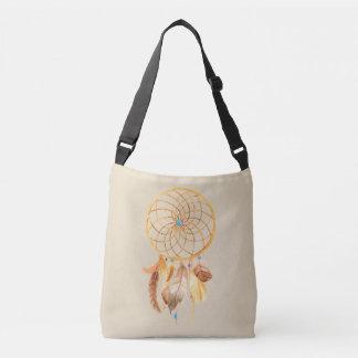 Goldene Dreamcatcher Taschen-Tasche Tragetaschen Mit Langen Trägern