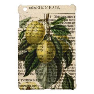 Goldene Esperen Pflaumen-Blume Hüllen Für iPad Mini