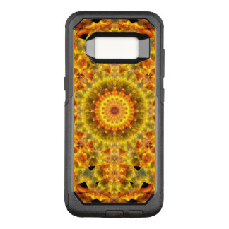 Goldene Feuer-Mandala OtterBox Commuter Samsung Galaxy S8 Hülle