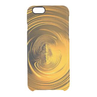 Goldene Flüssigkeit Durchsichtige iPhone 6/6S Hülle