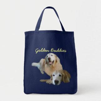 Goldene Freund-Taschen-Tasche Einkaufstasche