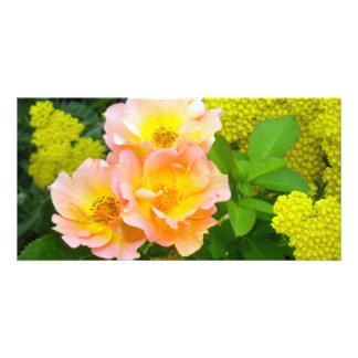 Goldene Garten-Schönheit Karte