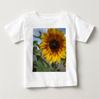 Goldene gelbe Sonnenblume, Baby T-shirt