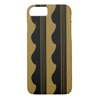 Goldene Gitarre iPhone 8/7 Hülle