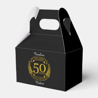 GOLDENE goldene 50 Jahre Hochzeitstag-50 alle Geschenkschachtel