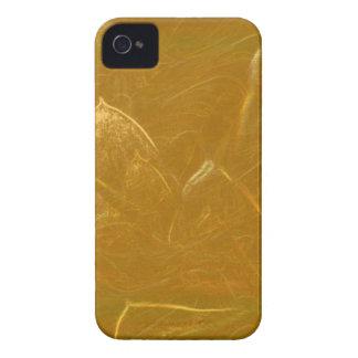 GOLDENE Goldfolien-Kunst LOTUSS künstlerische iPhone 4 Hülle