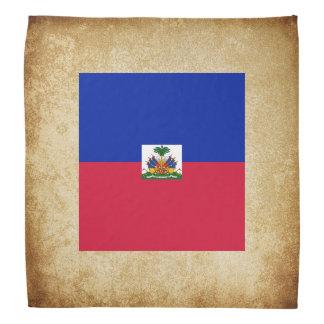 Goldene Haiti-Flagge Halstuch