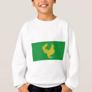 Goldene Hintar Flagge Sweatshirt