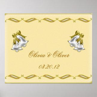 Goldene Hochzeit Poster