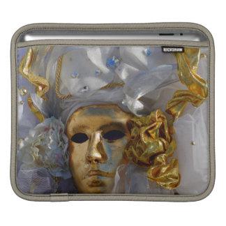 Goldene Karnevals-Maske Sleeve Für iPads
