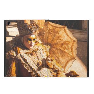 Goldene Karnevalsmaske