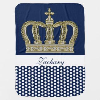 Goldene königliche Krone III + Ihr backgr. u. Kinderwagendecke