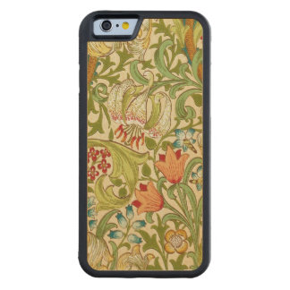 Goldene LilieVintager Pre-Raphaelite Williams Bumper iPhone 6 Hülle Ahorn