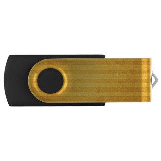 Goldene Listen und gealtert USB Stick