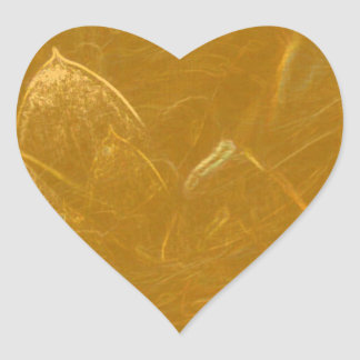 GOLDENE LOTOS-BLUMEN-DEKORATIVE GESCHENKE Herz-Aufkleber