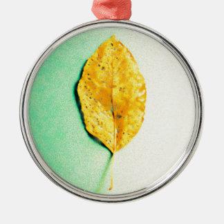 Goldene Minze durch JP Choate Silbernes Ornament