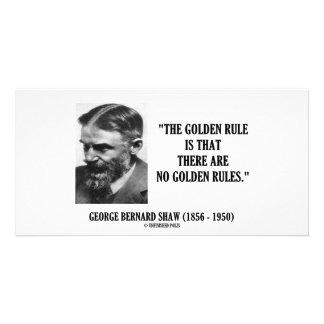 Goldene Regel G.B. Shaw kein Regel-Zitat Bildkarten