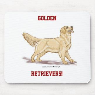 Goldene Retriever! Mousepad