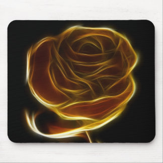 Goldene Rose entworfen mit vektor-Software Mousepads