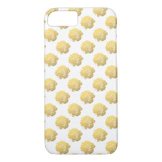 Goldene Rose iPhone 7 Hülle