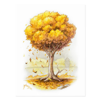 Goldene Ruhe Postkarte