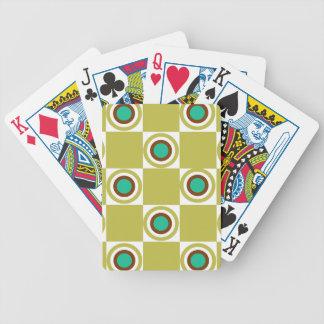 Goldene Senf-Restaurant-Punkte Bicycle Spielkarten