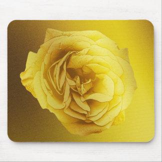 Goldene Steigungs-Rose Mousepad