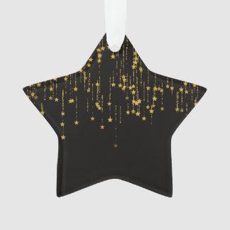 Goldene Sterne Ornament