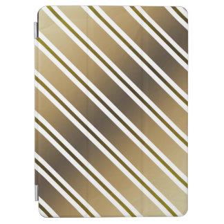 Goldene Streifen iPad Air Cover